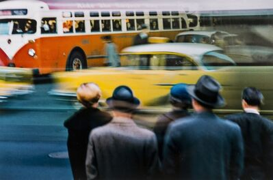 Ernst Haas, 'New York City, NY', 1952