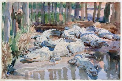 John Singer Sargent, 'Muddy Alligators', 1917