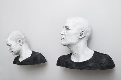 Guido Casaretto, 'Michael-4/ Roman Centurion texture, David-3 / Street Vendor2 texture', 2015