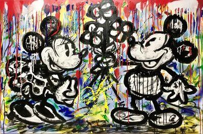 Kiko, 'Mickey & Minnie Vintage Pop', 2017