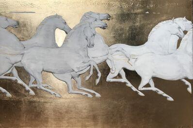 Yevgen Piskunov, '8 white horses', 2019