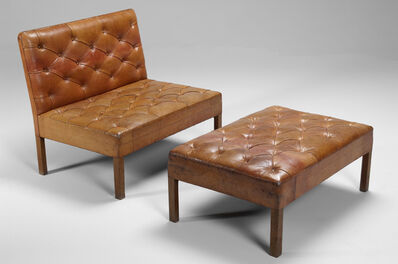 Kaare Klint, ''Addition' Sofa and Footstool', ca. 1930