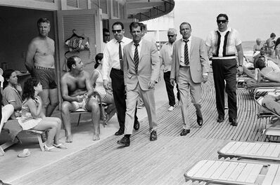 Terry O'Neill, 'Frank Sinatra Boardwalk', 1968