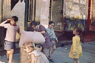 Helen Levitt, 'New York', 1972