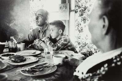 Elliott Erwitt, 'Farmer Family at Meal, Douglas, Wyoming', 1954