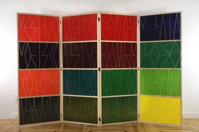 Emilia Azcárate, 'Untitled. Folding Screen (Andrés de Islas series)', 2017