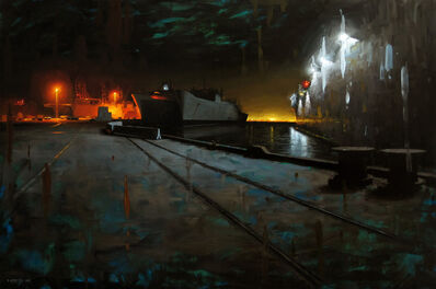 David Cheifetz, 'Shipyard Nocturnal', 2013