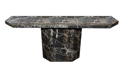 Attributed to Willy Rizzo, '1970s Marble Console Table Attributed to Willy Rizzo ', ca. 1970