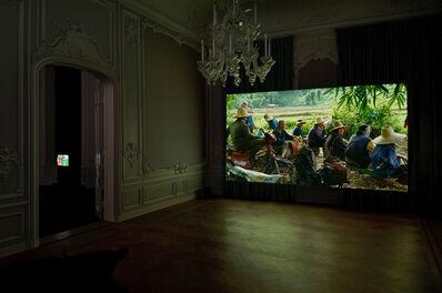 Rirkrit Tiravanija, 'Lung Neaw Visits His Neighbours ', 2011