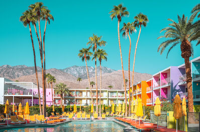 Ludwig Favre, 'Palm Springs Colorful 1', 2020