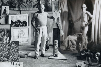 John O'Reilly, 'Untitled (Posing for Picasso)', 1984