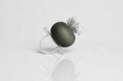 Marta Edöcs, 'Grey Floral Bubble Ring', 2018