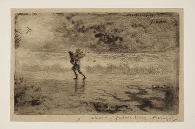 Félix Hilaire Buhot, 'Le Peintre de marine, 1st state', ca. 1879