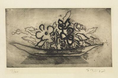 Georges Braque, 'Basket of flowers ', 1951