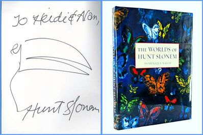 Hunt Slonem, 'Original signed & inscribed drawing held in elegant hardback monograph', ca. 2012