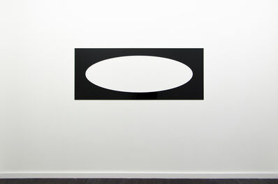 Douglas Allsop, 'Reflective Editor: One Horizontal Elliptical Hole, Parallel Pattern', 2013