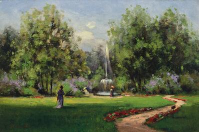 William Wendt, 'Stroll in the Park'