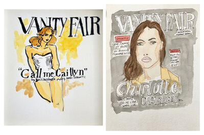 manuel santelices, 'Vanity Fair Call Me Caitlyn Cover, and Charlotte Casiraghi in Vanity Fair, Set', 2016