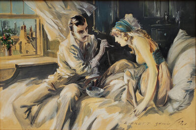 Everett Shinn, 'Hearts Unreasoning, by Sarah Bernhardt The First of Six Romances of the French Stage ', 1920