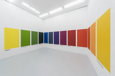 Haim Steinbach, 'eswürdesoaussehen', 2018