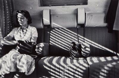 Charles Harbutt, 'Aboard Le Mistral, Arles, Paris, France', 1975