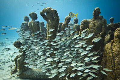 Jason deCaires Taylor, 'The Silent Evolution (5)', 2012