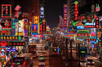 Keith Macgregor, ''Yuen Long Neon Fantasy' KMNF-16 Hong Kong', Image taken 2012 / Artwork made 2018