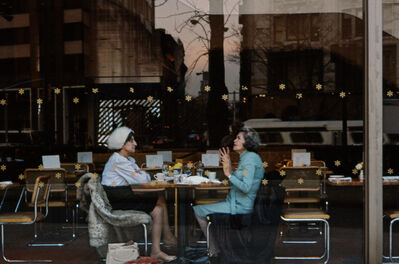 Frank Horvat, 'Two Ladies in a Cafeteria, Uptown West, New York', 1984