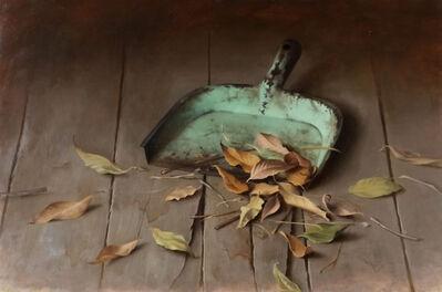 Dana Zaltzman, 'Dustpan and Leaves', 2020