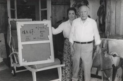 Nelly Kaplan, 'Picasso et Jacqueline', 1967