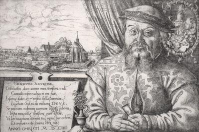 Hans Sebald Lautensack, 'Hieronymus Schurstab (1st state)', 1554