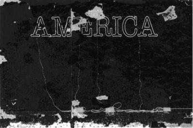 Glenn Ligon, 'Untitled (America)', 2015