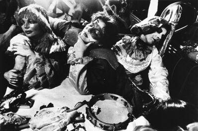Josef Koudelka, 'Carneval Zurich - Swisse', years 1980