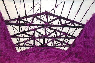 Tony Bevan, 'Violet Interior', 2003