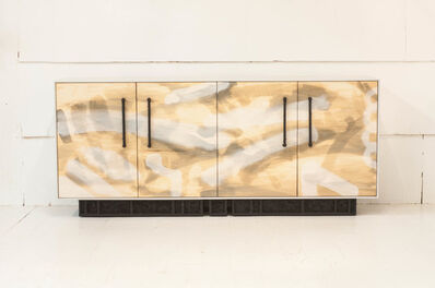 Jeff Martin, 'Painted Excavated Credenza', 2020