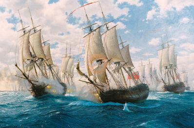 John Steven Dews, 'Battle of Chesapeake, 5th September 1781', 21st Century