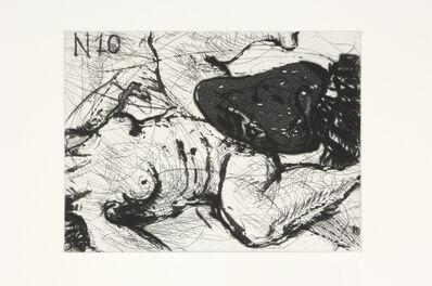 William Kentridge, 'Nose 10', 2008