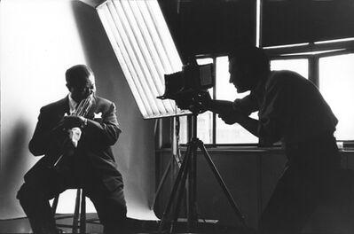 Bert Stern, 'Louis Armstrong and Bert Stern', 1958