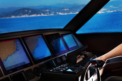 David Drebin, 'David Drebin, Steering Ship', 2018