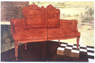 Pamela Phatsimo Sunstrum, 'Loveseat', 2018