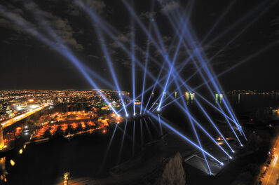 Rafael Lozano-Hemmer, 'Vectorial Elevation', 1999-2010