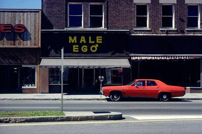 John Baeder, 'Male Ego', 1979