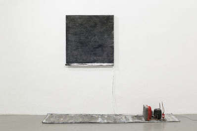 Pier Paolo Calzolari, 'Untitled (Black Salt)', 1986