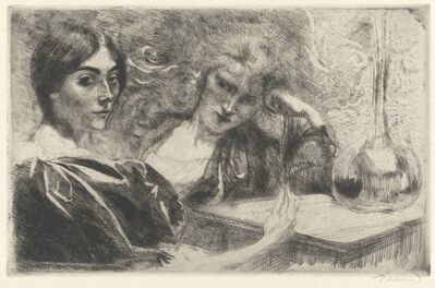 Albert Besnard, 'Morphine Addicts (Morphinomanes)', 1887