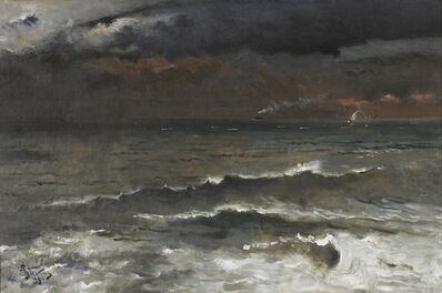 Alfred Stevens, 'La Vague', 1893