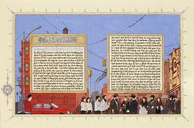 Sandow Birk, 'American Qur'an/Sura 45 (A-B)', 2003