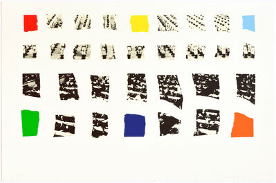 John Baldessari, 'Motiv opaque', 2003