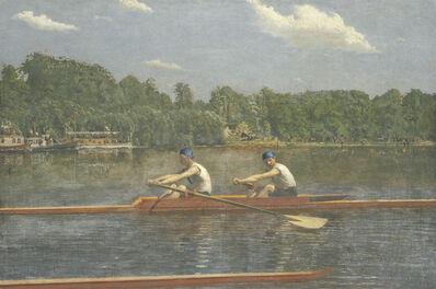 Thomas Eakins, 'The Biglin Brothers Racing', 1872