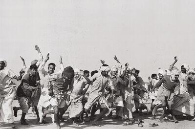 Henri Cartier-Bresson, 'Games in a refugee camp at Kurukshetra, Punjab, India', 1947