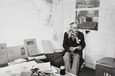 Henri Cartier-Bresson, 'Pierre Bonnard, Le Cannet, France, 1944', printed later